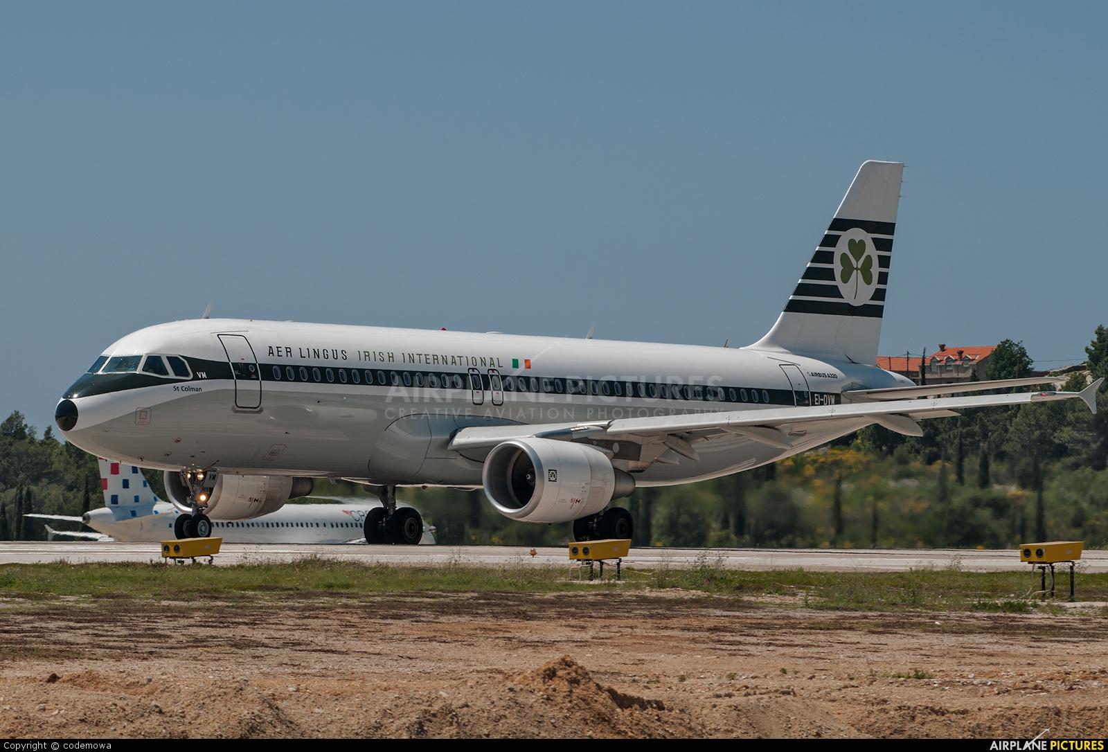 Aer Lingus EI-DVM aircraft at Dubrovnik