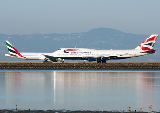 G-BNLW - British Airways Boeing 747-400