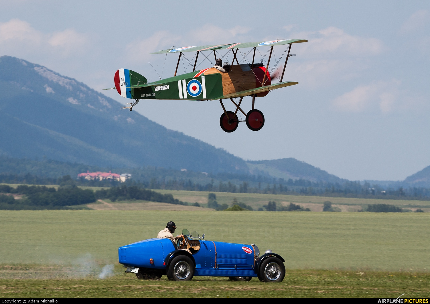 Letajici Cirkus OK-NUL 35 aircraft at Poprad - Tatry