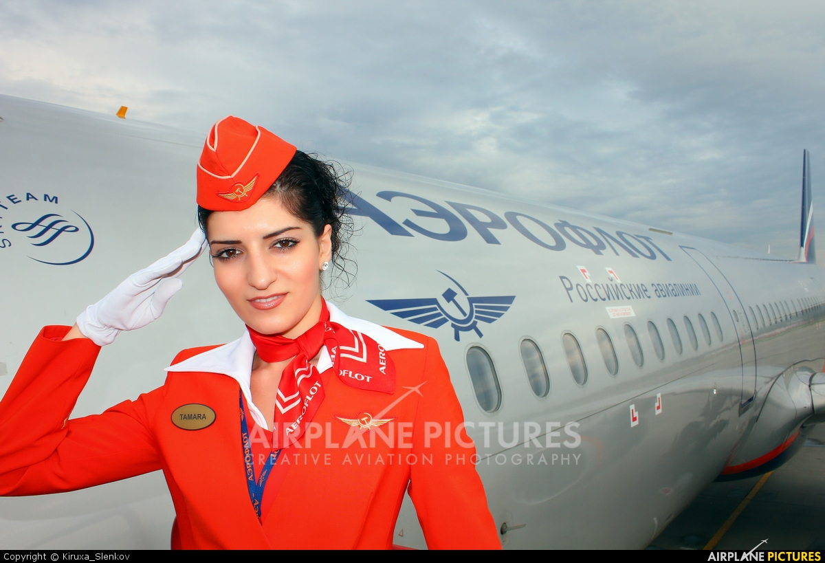 aeroflot attendant Aviation Glamour - Aviation Glamour - Flight Attendant -