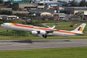 EC-JFX - Iberia Airbus A340-600 aircraft