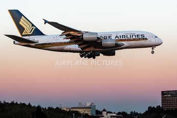 9V-SKJ - Singapore Airlines Airbus A380