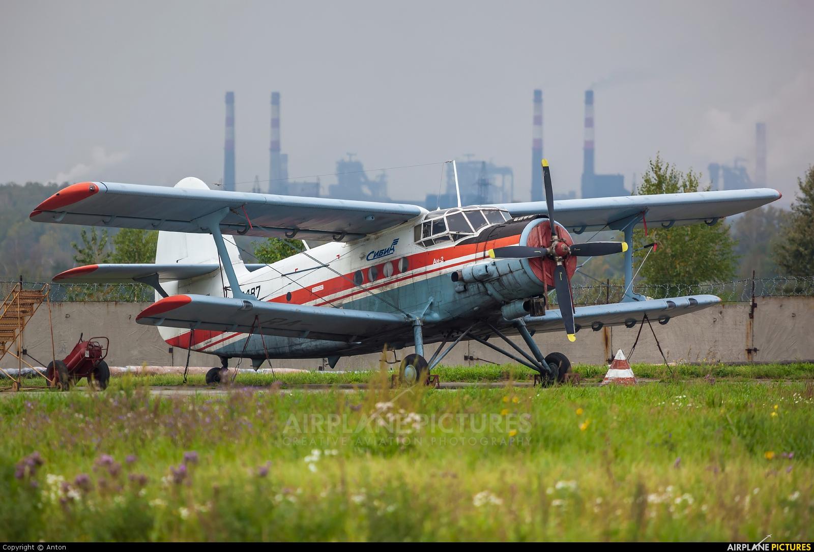 Sibia RA-40487 aircraft at Chelyabinsk