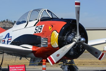 N928C - Private North American T-28C Trojan