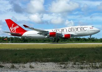 G-VAST - Virgin Atlantic Boeing 747-400