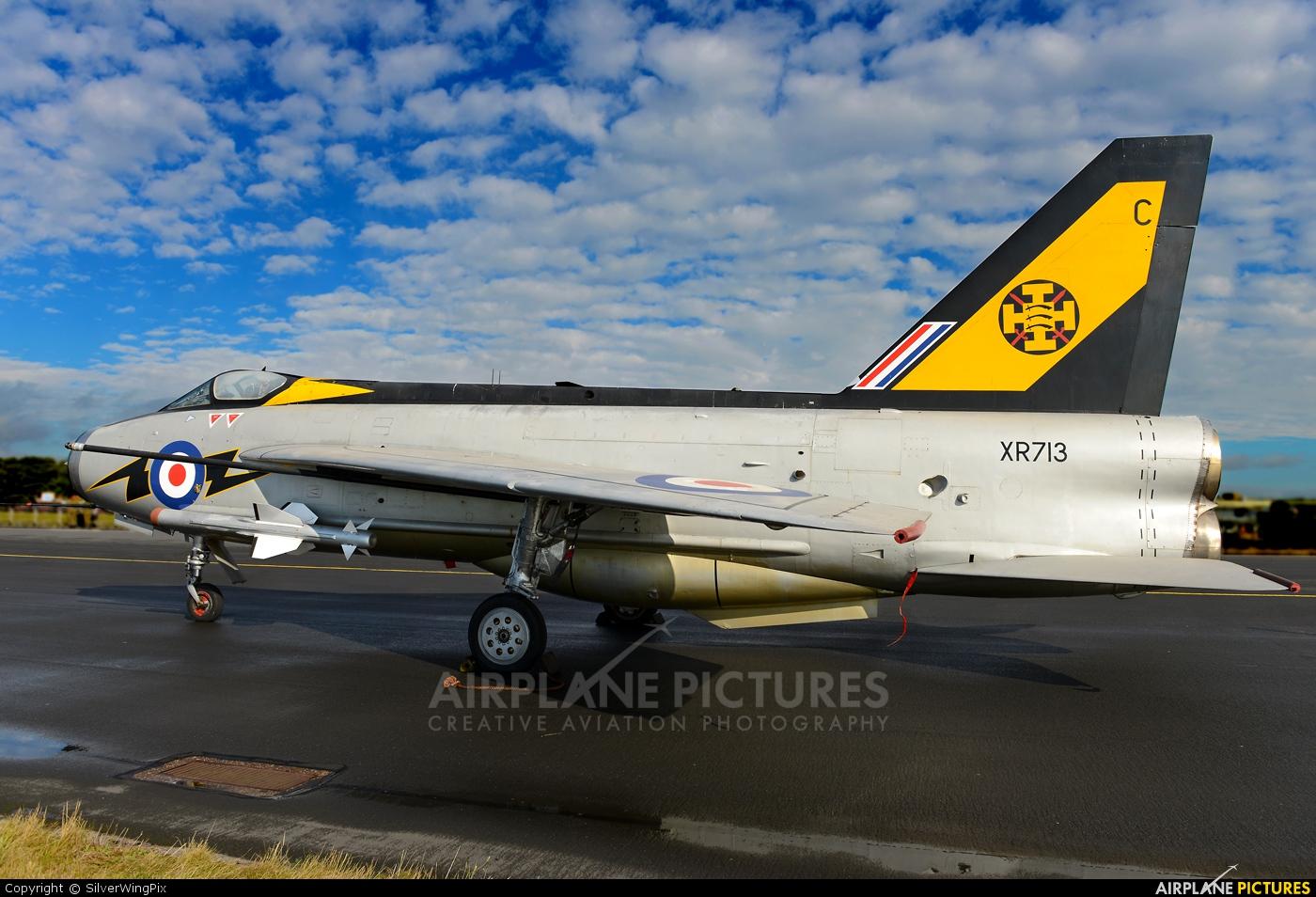 Royal Air Force XR713 aircraft at Leuchars