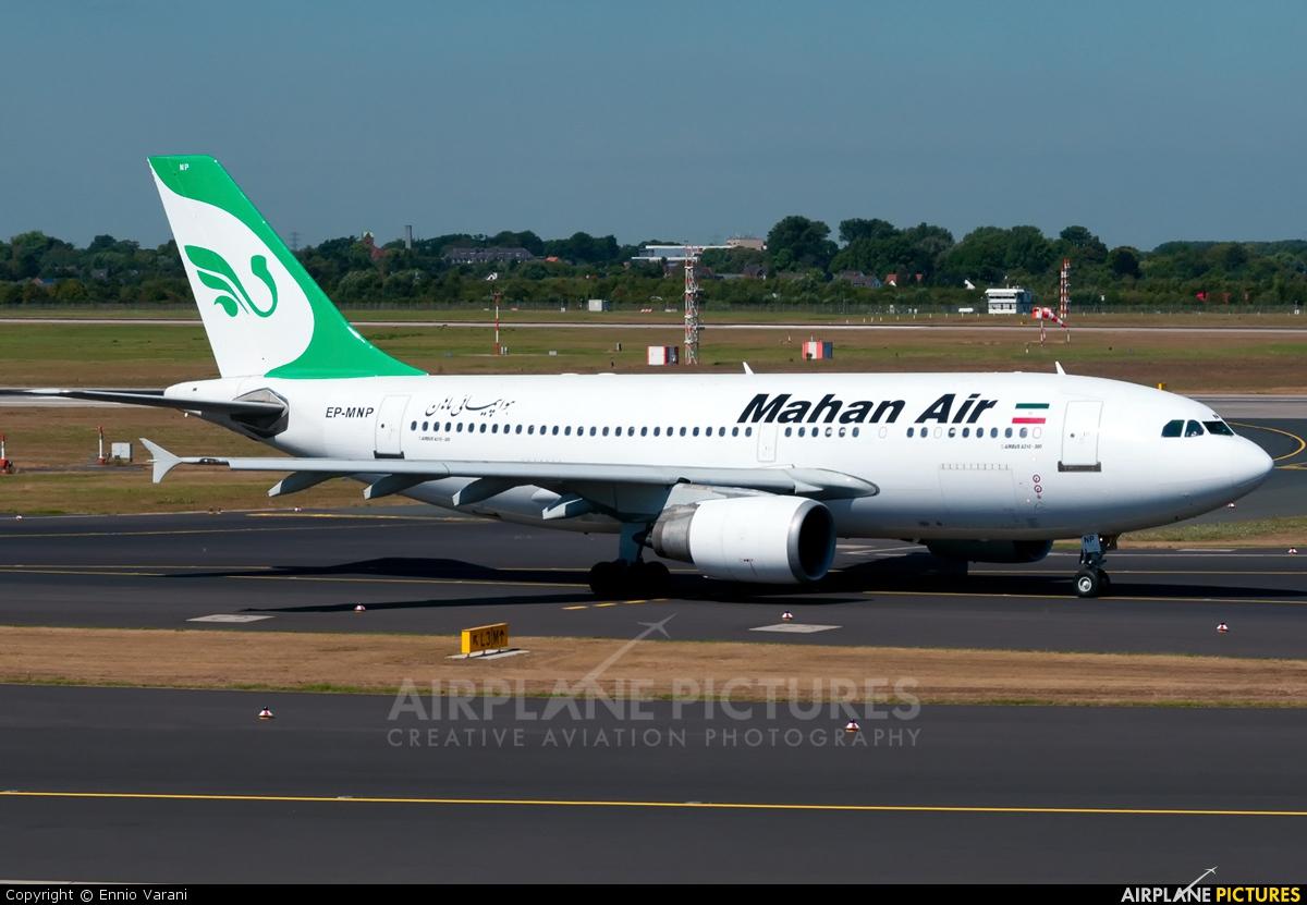 Mahan Air EP-MNP aircraft at Düsseldorf