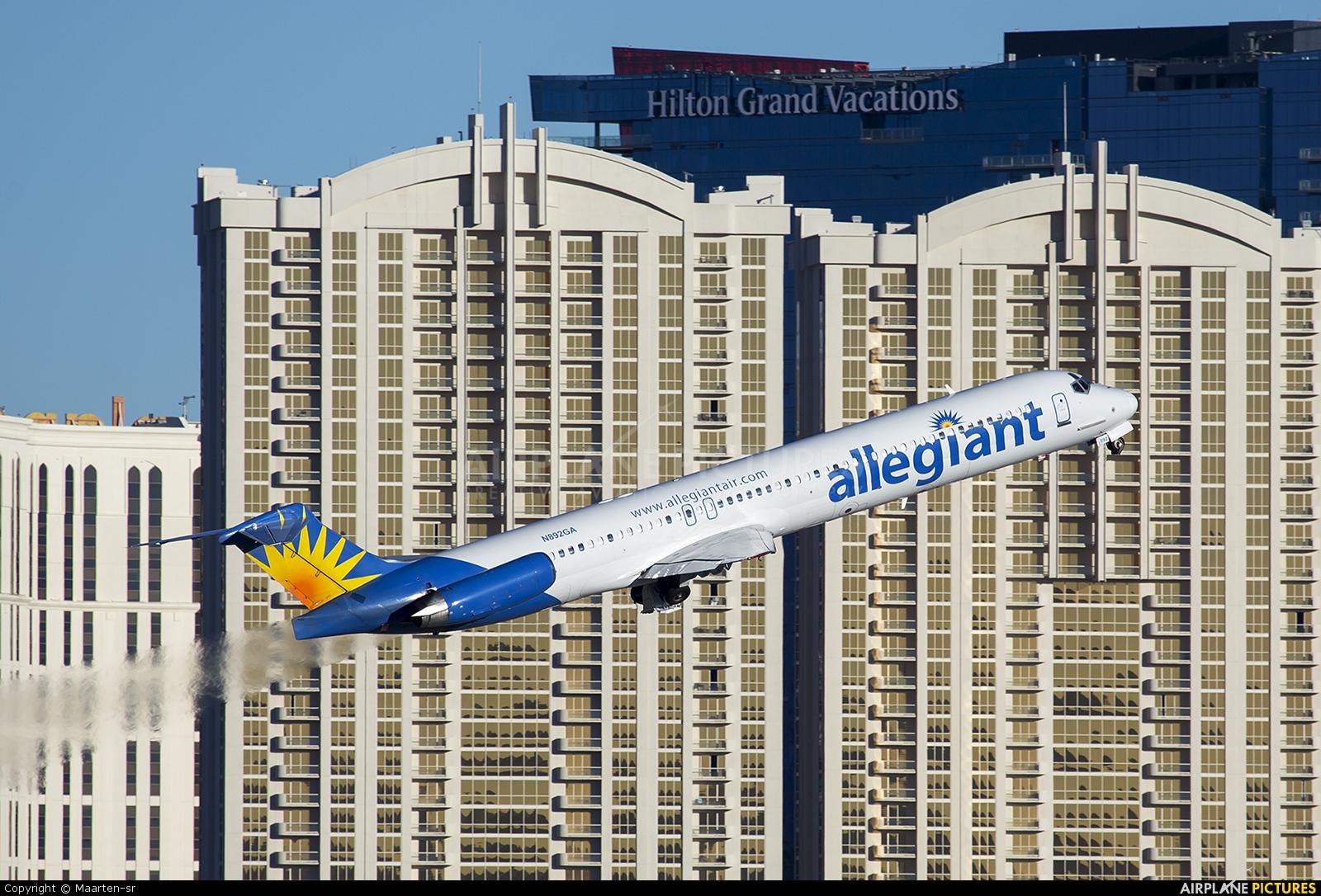 Allegiant Air N892GA aircraft at Las Vegas - McCarran Intl