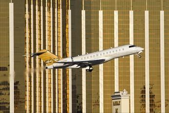 N689WM - Private Bombardier BD-700 Global 5000