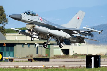 E-074 - Denmark - Air Force General Dynamics F-16A Fighting Falcon