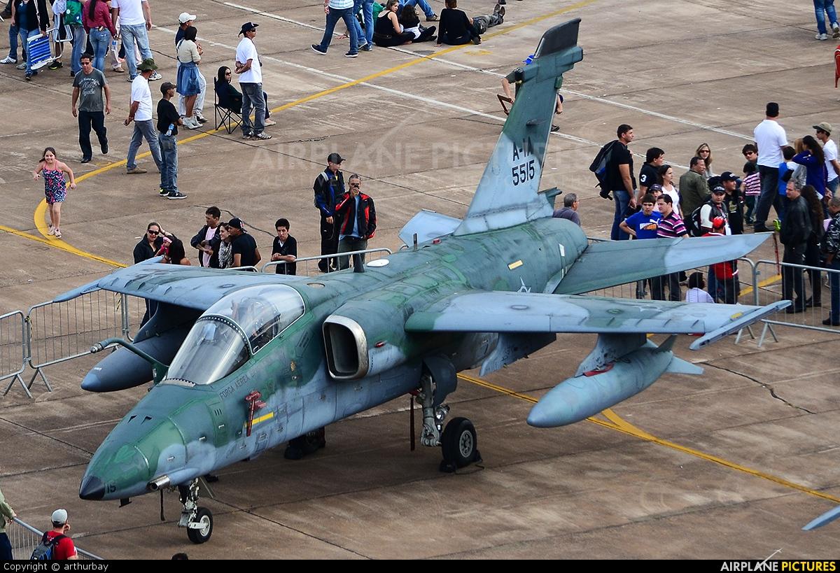 Brazil - Air Force 5515 aircraft at Pirassununga (Campo Fontenelle)