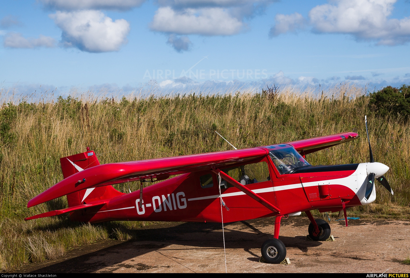 Private G-ONIG aircraft at Longside