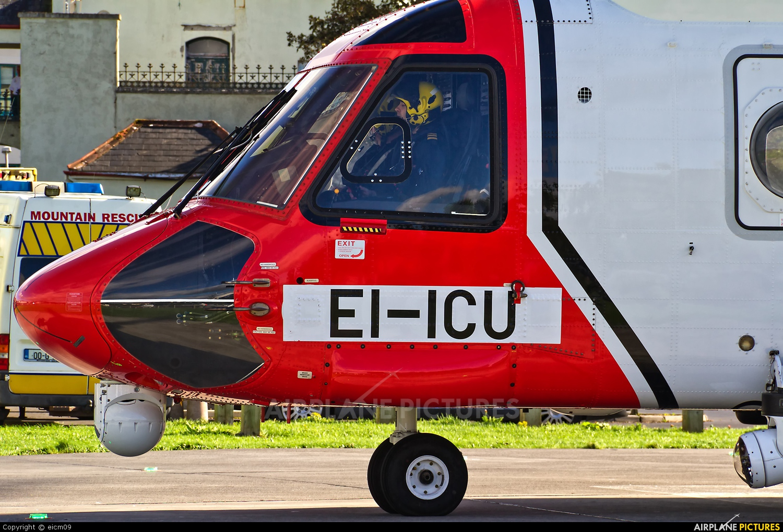 CHC Ireland EI-ICU aircraft at Galway