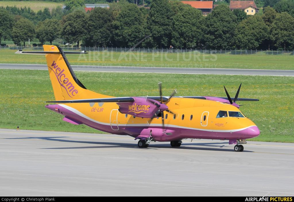 Welcome Air OE-LIR aircraft at Innsbruck