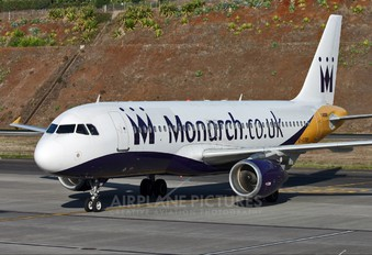 G-OZBB - Monarch Airlines Airbus A320