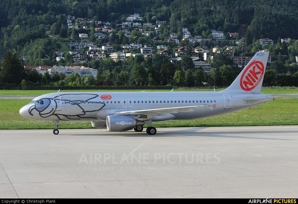Niki OE-LEH aircraft at Innsbruck