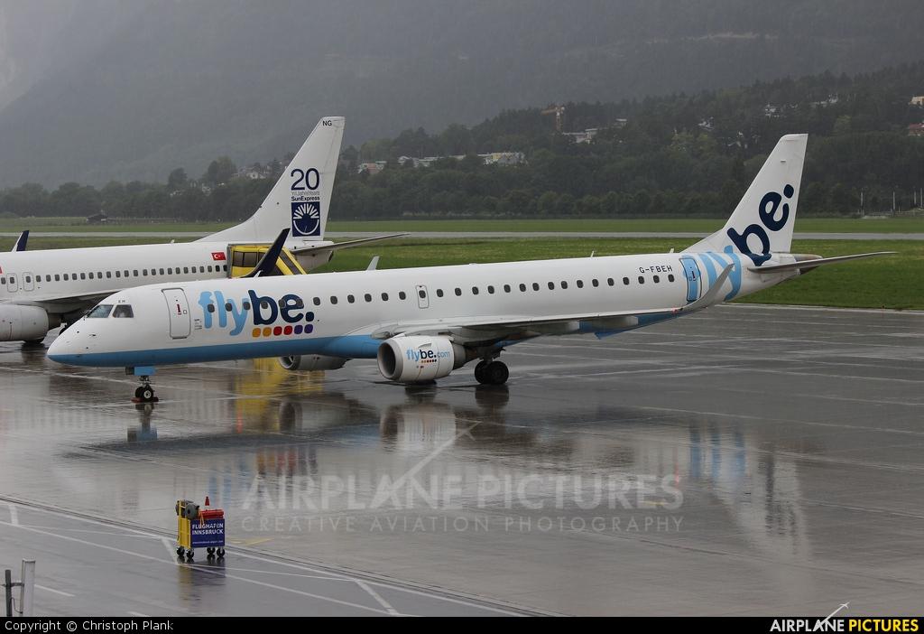 Flybe G-FBEH aircraft at Innsbruck