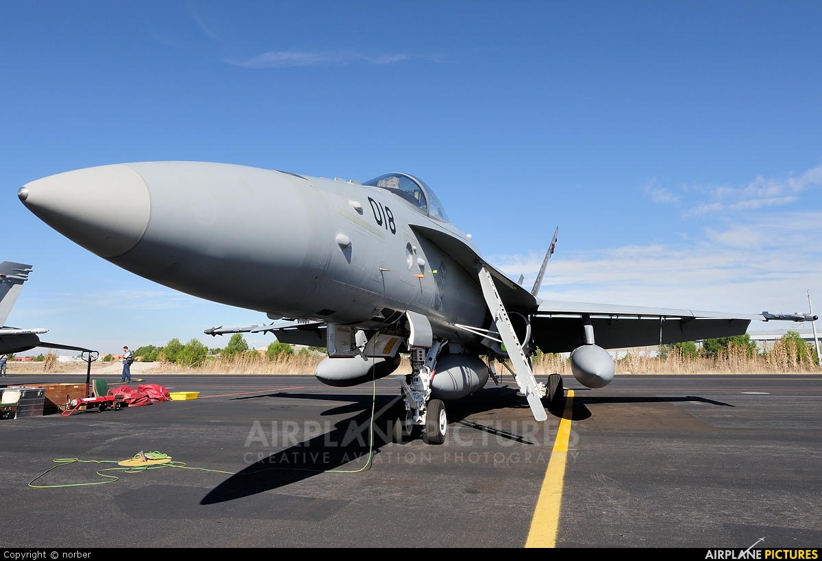 Switzerland - Air Force J-5018 aircraft at Albacete