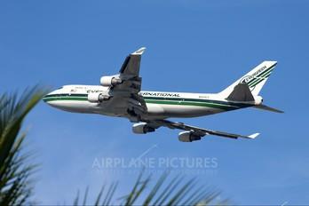 N493EV - Evergreen International Boeing 747-400BCF, SF, BDSF