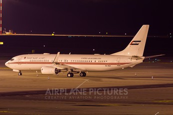 A6-HEH - United Arab Emirates - Government Boeing 737-800 BBJ