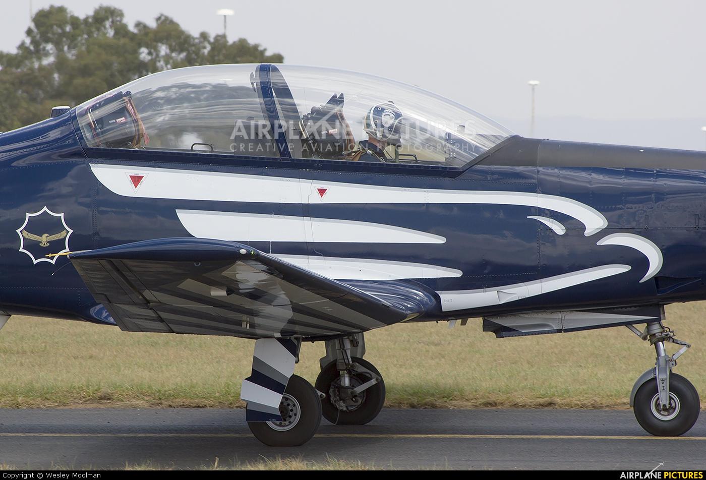South Africa - Air Force 2027 aircraft at Johannesburg - Rand