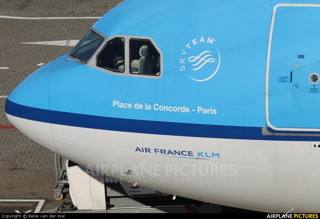 KLM PH-AOC aircraft at Amsterdam - Schiphol