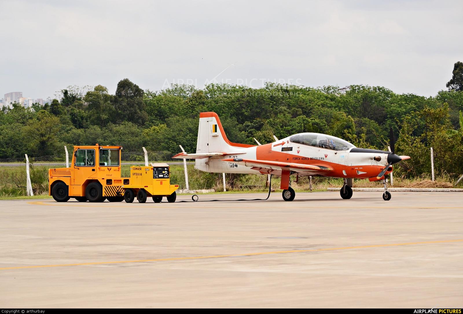 Brazil - Air Force 1414 aircraft at São Paulo - Campo de Marte
