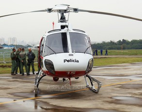PR-SMW - Brazil - Military Police Helibras HB-350B Esquilo