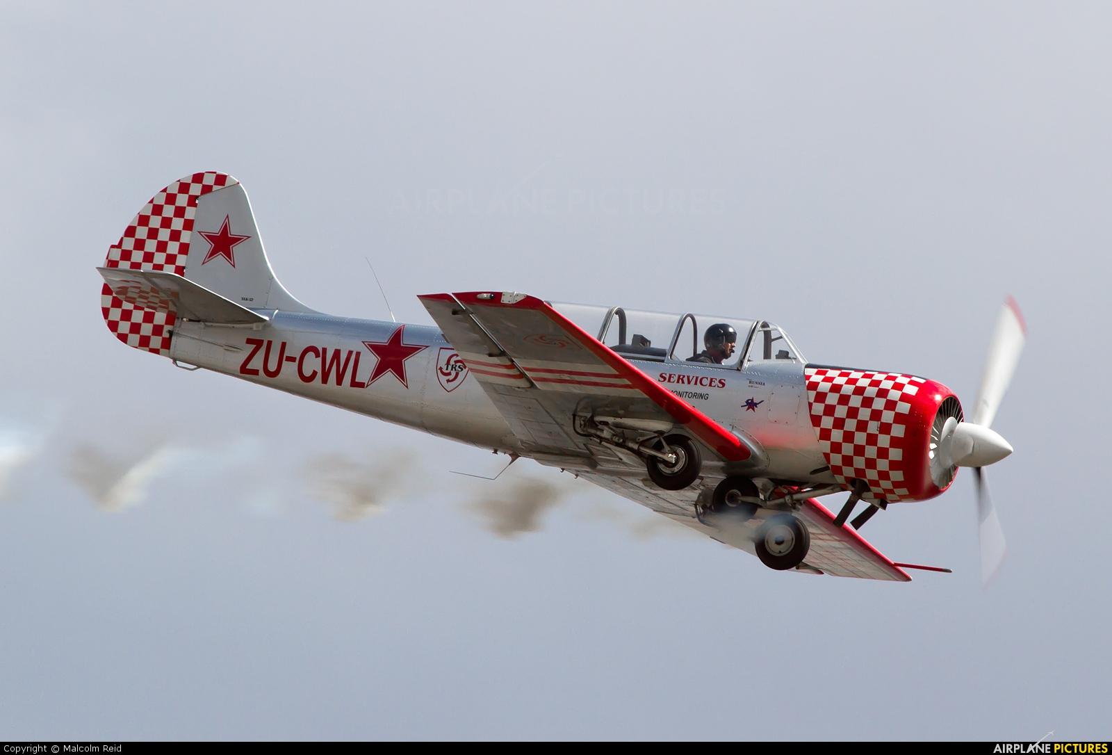 Private ZU-CWL aircraft at Johannesburg - Rand
