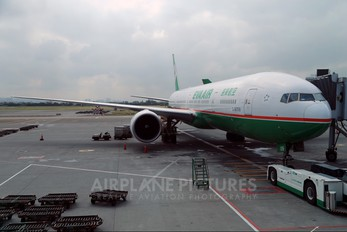 B-16709 - Eva Air Boeing 777-300ER