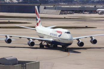 G-CIVS - British Airways Boeing 747-400