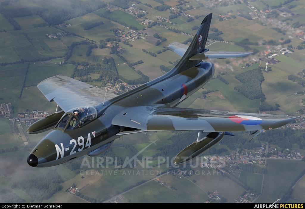 Stichting Dutch Hawker Hunter Foundation G-KAXF aircraft at In Flight - Belgium