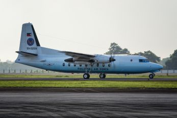 59-0259 - Philippines - Air force Fokker F27