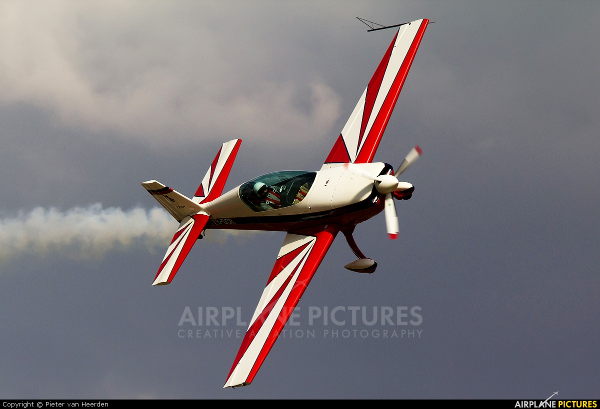 Private ZS-DCR aircraft at Johannesburg - Rand