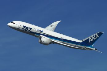 JA803A - ANA - All Nippon Airways Boeing 787-8 Dreamliner