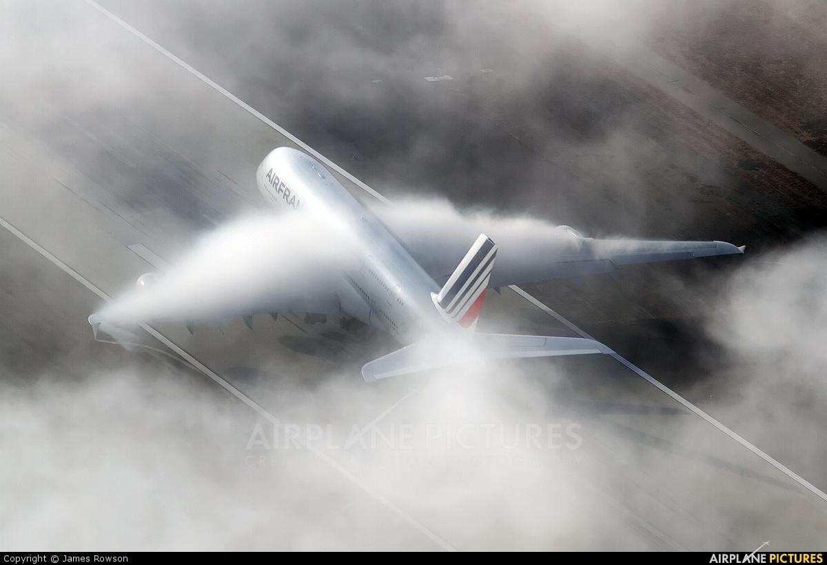 Air France F-HPJH aircraft at Los Angeles Intl