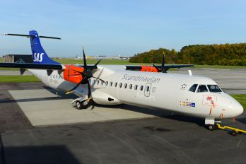 OY-JZA - SAS - Scandinavian Airlines ATR 72 (all models)