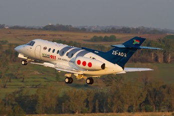 ZS-AOA - Private British Aerospace BAe 125