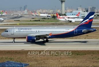VP-BQP - Aeroflot Airbus A320