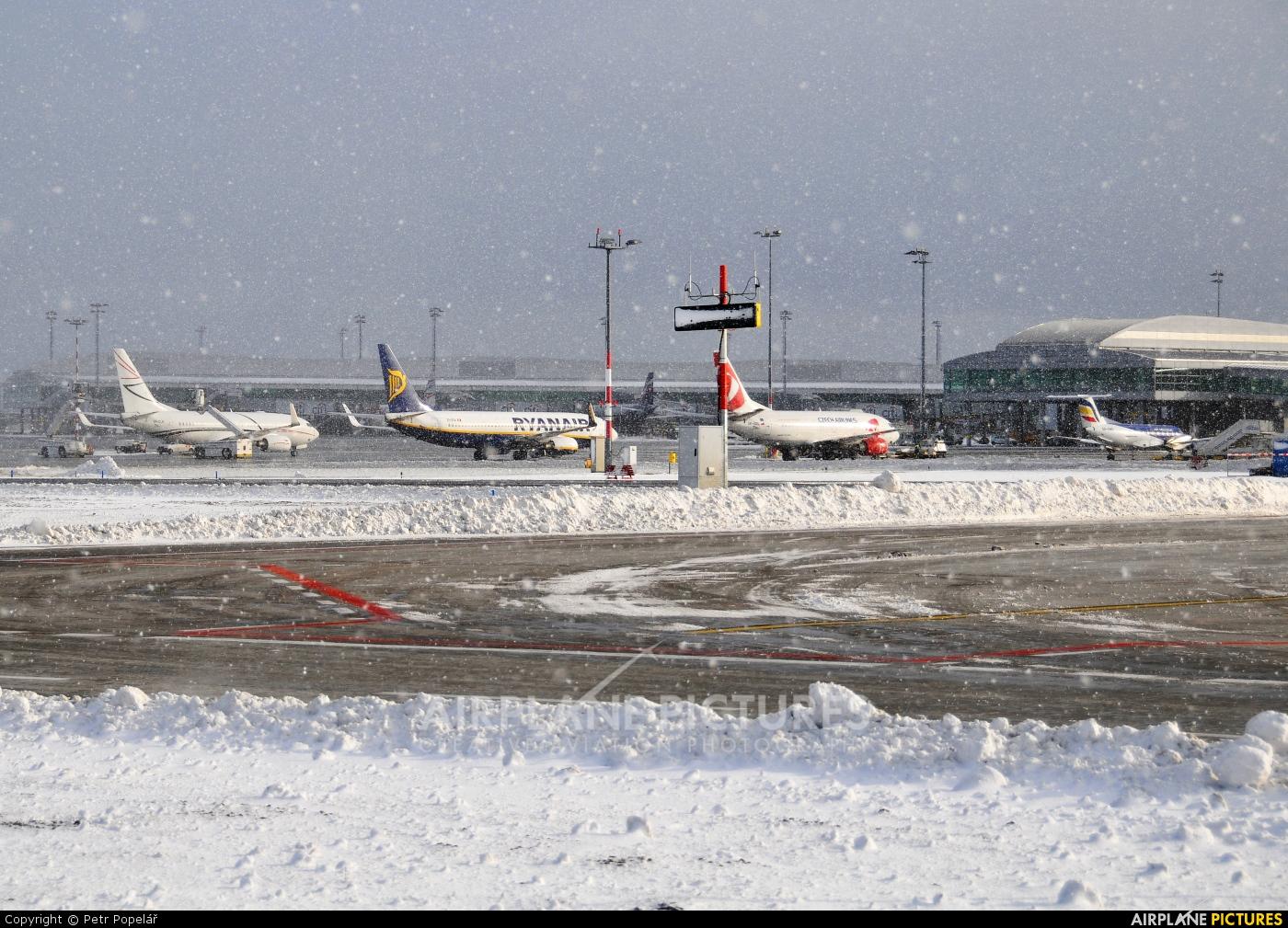 Air Moldova ER-EMA aircraft at Prague - Václav Havel