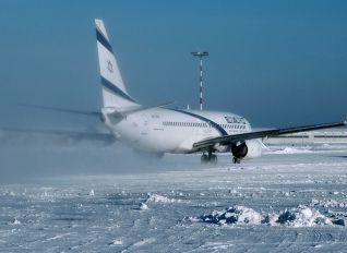 4X-EKB - El Al Israel Airlines Boeing 737-800