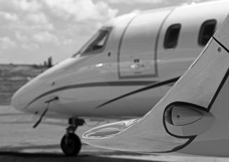 ZS-AJD - Private Learjet 45