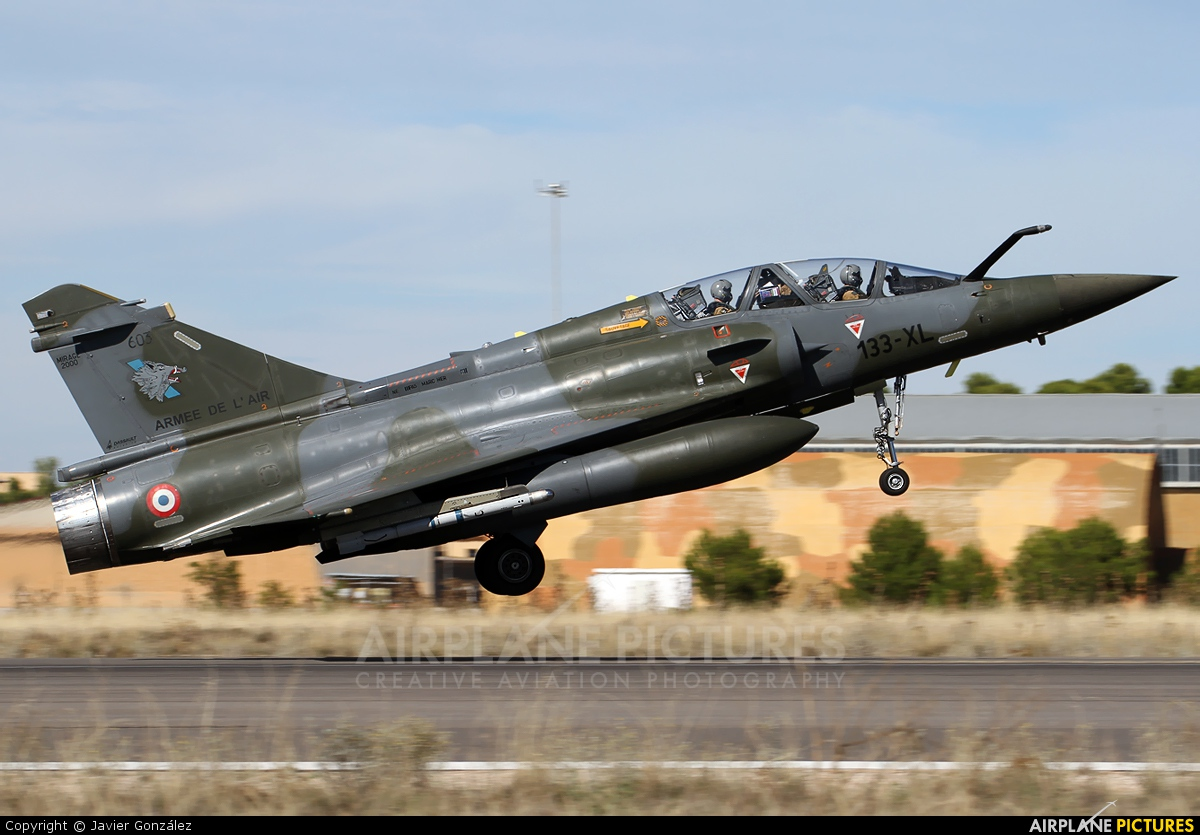 France - Air Force 603 aircraft at Albacete