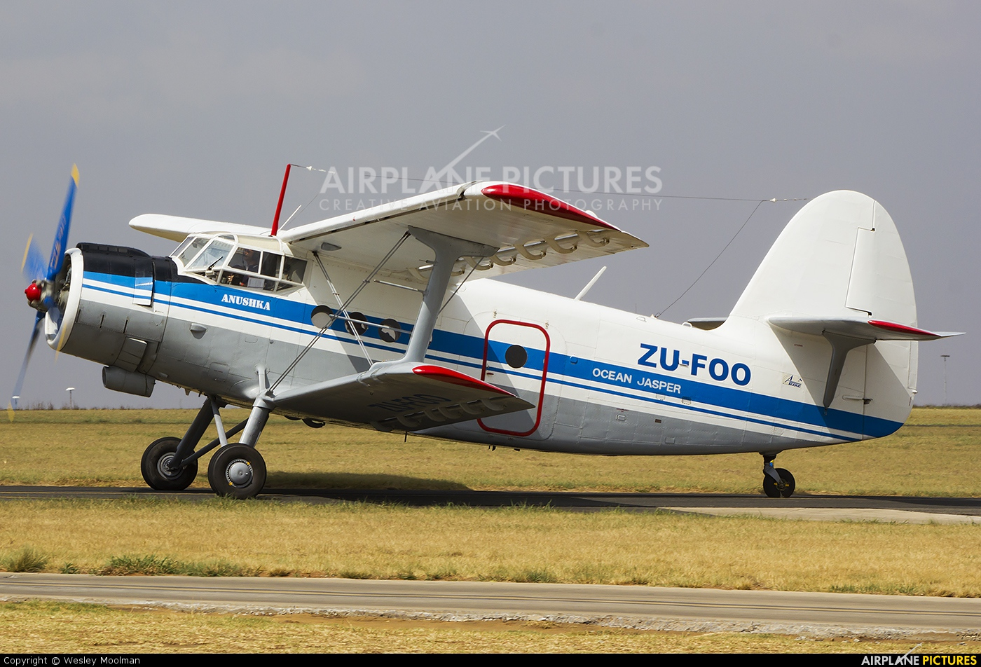 Private ZU-FOO aircraft at Johannesburg - Rand