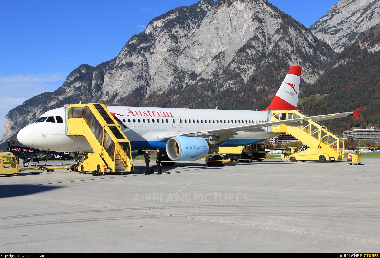 Austrian Airlines/Arrows/Tyrolean OE-LBO aircraft at Innsbruck