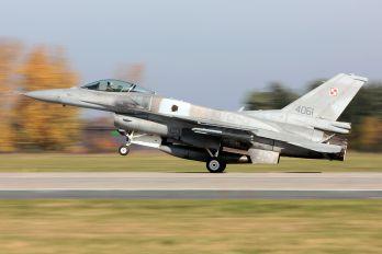 4061 - Poland - Air Force Lockheed Martin F-16C block 52+ Jastrząb