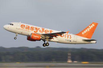 G-EZEV - easyJet Airbus A319
