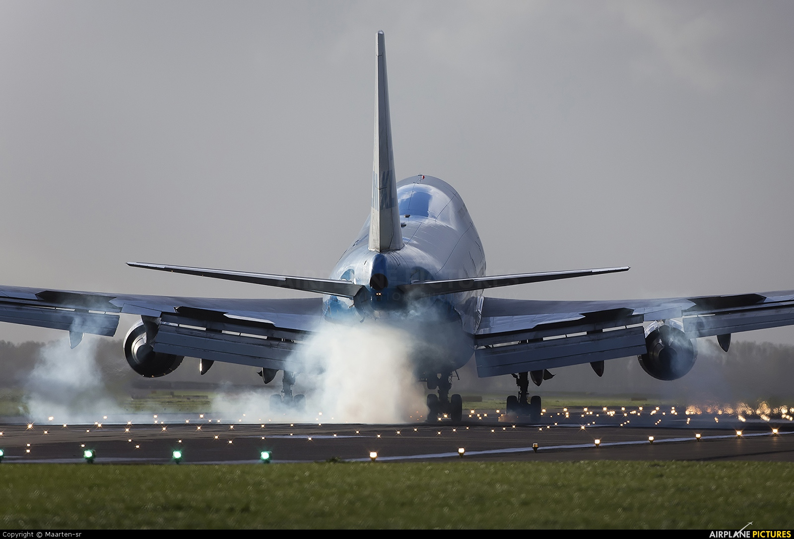 KLM - aircraft at Amsterdam - Schiphol