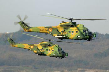 60 - Romania - Air Force IAR Industria Aeronautică Română IAR 330L-Socat Puma