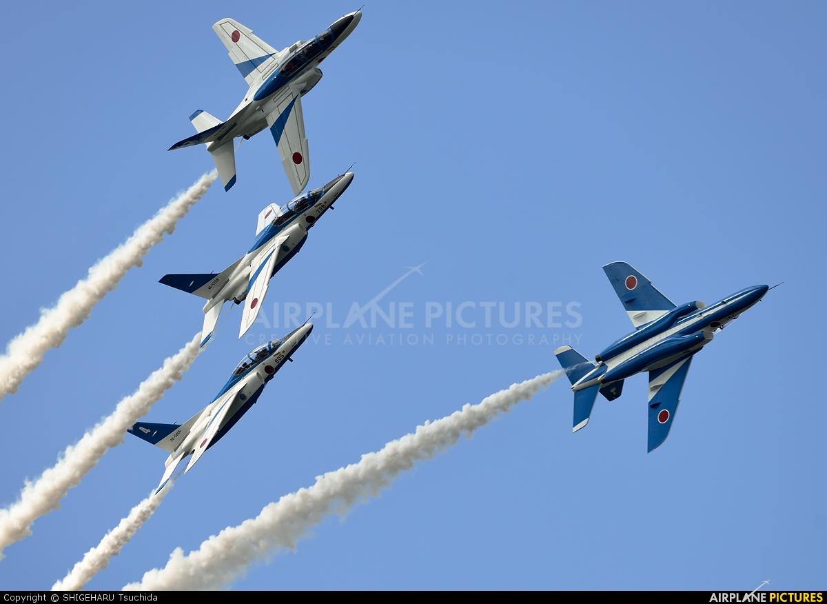 Japan - ASDF: Blue Impulse - aircraft at Tsuiki AB